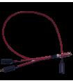 Power Distribution placa derecha rojo cable de energía - Agras T16